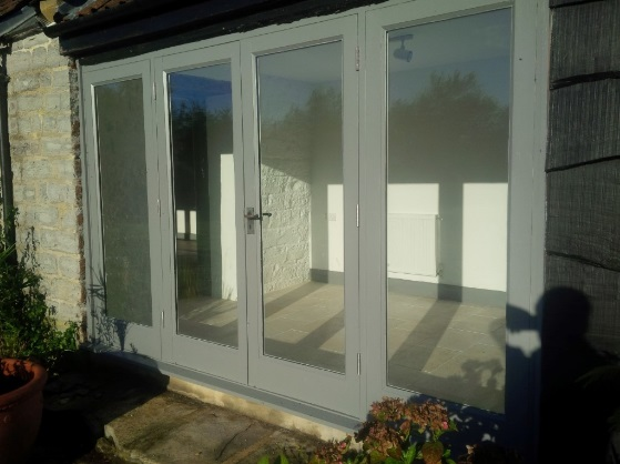 The Byre After patio doors